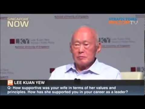 Filipino Asked Lee Kuan Yew An Irrelevant Question video