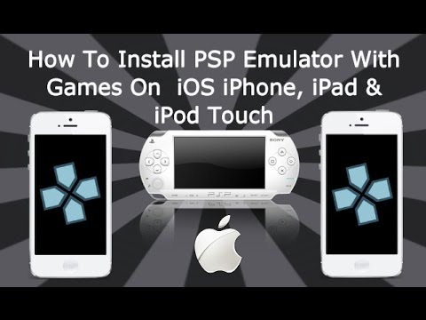 How To Install PSP Emulator With Games On iPhone. iPad & iPod Touch