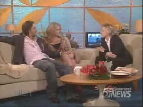 Britney Spears And Kevin Federline On Ellen DeGeneres Show