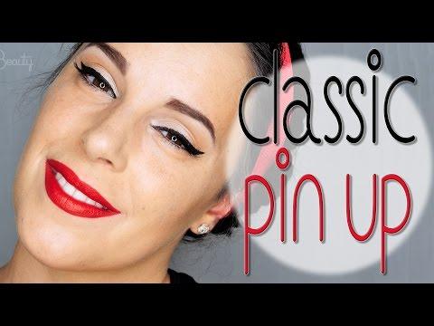 Classic Pin Up makeup | Silvia Quiros