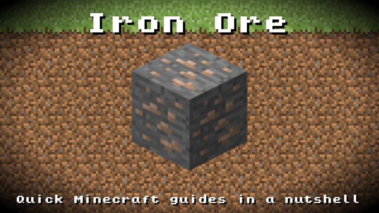 minecraft how to find iron ingot