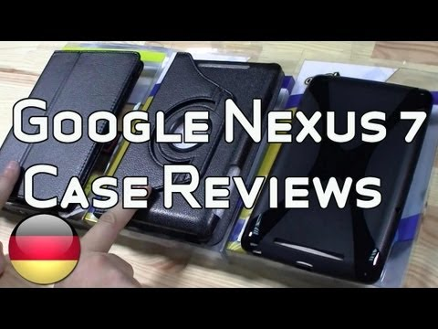 Google Nexus 7 Cases Testbericht [Deutsch - German]