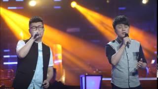 中國好聲音 第四季 - 第七期 2015-08-28 張磊 + 朱強 - 車站 無雜音版