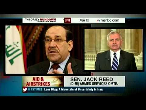 Reed Talks Iraq on MSNBC's Daily Rundown