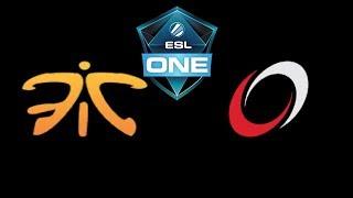 Fnatic vs coL ESL One Katowice 2019 Highlights Dota 2