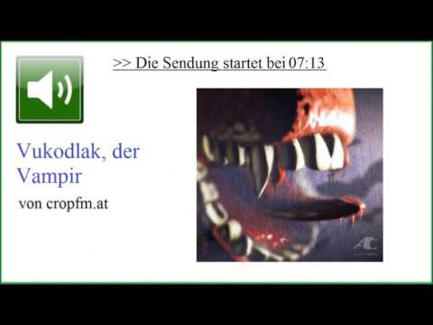 Mythos des Vampirs ☆ Igor Friedrich Petković, bei cropfm