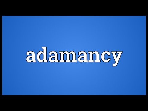 Header of Adamancy