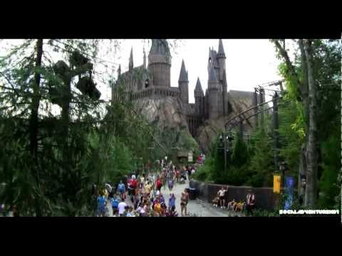 [HD] Tour of Wizarding World of Harry Potter - Islands of Adventure - Universal Orlando