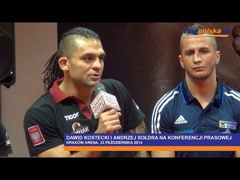 Kostecki Vs Sołdra: Konferencja Prasowa W Krakowie      ::: Adamek Vs Szpilka