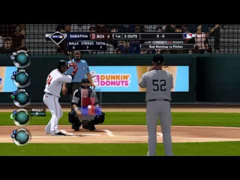 MLB 2K12  New York Yankees  VS  Boston Red Sox
