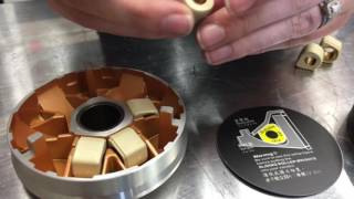 How to install Dr. Pulley variator slider weights