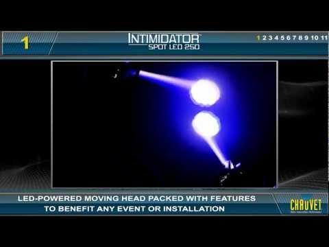 Intimidator Spot LED 250 by CHAUVET DJ