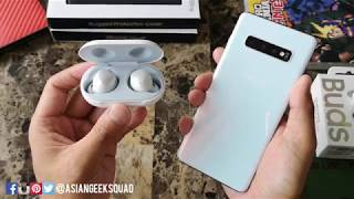 01. Samsung Galaxy Buds - Unboxing and Setup