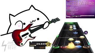 Bongo Cat Plays Guitar Hero
