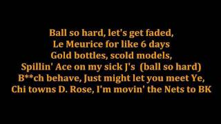 Jay-Z ft Kanye West - Niggas In Paris [LYRICS ON SCREEN HD]
