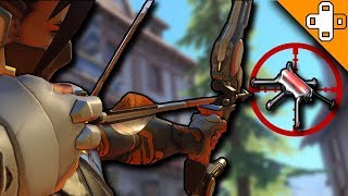 HITTING A MIDAIR VENOM MINE?! - Overwatch Funny & Epic Moments 251 - Highlights Montage