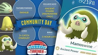 TOP 5 TIPS to MAXIMIZE SHINY SWINUB + MAMOSWINE COMMUNITY DAY | POKEMON GO!