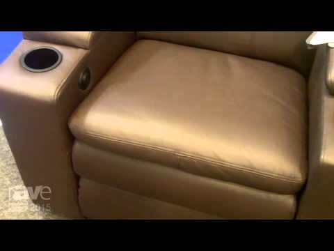 ISE 2015: Home Cinema Modules Showcases Roma Home Theater Seating