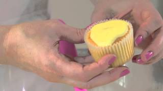 White Chocolate and Lemon Cupcakes with Lisa Marley and Dr. Oetker