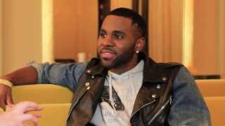 Jason Derulo dance battle and funny interview promoting The Other Side in Britain!