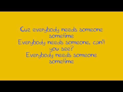 Jewel - Everybody Needs Someone Sometime