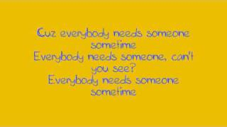 Watch Jewel Everybody Needs Someone Sometime video