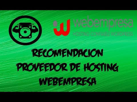 Recomendación Hosting Wordpress - Webempresa