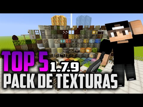 Top 5 Pack de Texturas Para Minecraft 1.7.9 [+Descargas]