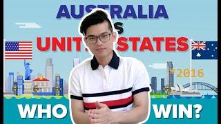 So sánh du học Mỹ - Úc, Nên đi Mỹ hay đi Úc?