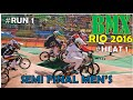 Men's BMX Cycling: Semi-Final Rio-2016 - Heat 1, Run 1 - Olympic Games 2016 -  BRASIL