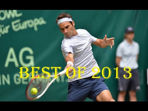Roger Federer's Best Points of 2013 [HD]