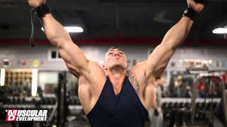 Vincenzo Masone Trains Back and Biceps 1 5 Weeks Out from the NPC Eastern USA