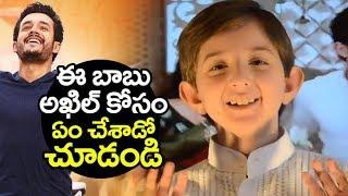 Poland boy SPECIAL Surprise to akhil akkineni | HELLO movie Songs | kalyani priyadarshan