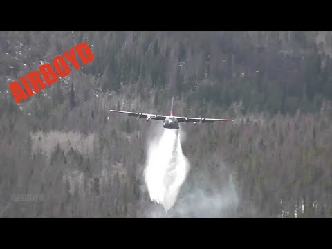 C-130 Modular Airborne Firefighting System Training Image 1