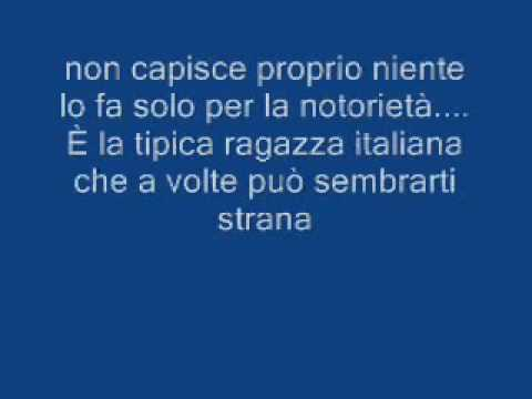 Dj Matrix - La Tipica Ragazza Italiana