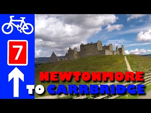 National Cycle Network Route 7 Strathspey – Newtonmore, Feshiebridge, Boat of Garten, Carrbridge