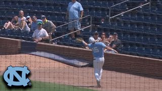 UNC Gets Double Play On A Wild Sequence