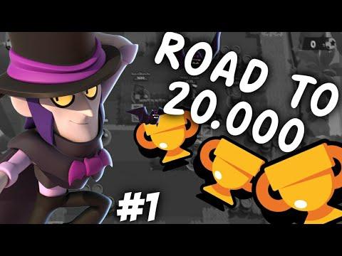 Road to 20.000 #1 | Mortis Solo Push ⭐ Brawl Stars [HUN]