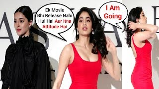 Jhanvi Kapoor IGNORES Ananya Pandey In Public - Watch Video