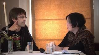 Julian talking at Writers' Week Listowel