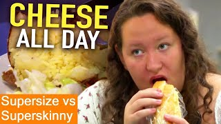 CHEESE Obsessed | Supersize Vs Superskinny | S05E08 | How To Lose Weight | Full Episodes