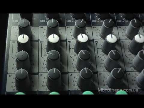 Уроки по звуку. Микшерный пульт ч.2 Эквалайзер