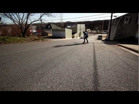 Longboarding: January Freeride