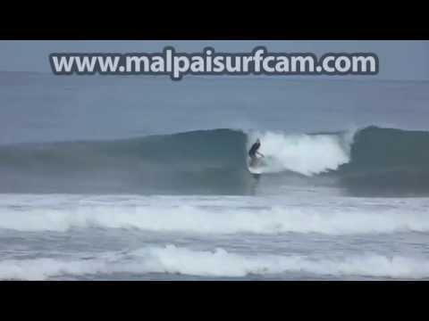 Mal Pais Costa Rica, www malpaisurfcam com 07 17 15 Surfing Santa Teresa
