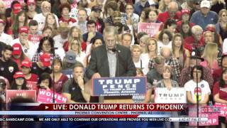 Carl Mueller, Father of Kayla Mueller, Speaks at Donald Trump Rally in Phoenix