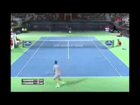 Roger Federer vs Novak Djokovic Highlights In Dubai 2014 SF HD