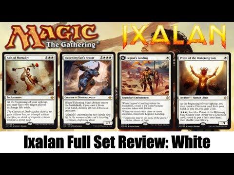 MTG Ixalan Full Set Review: White!