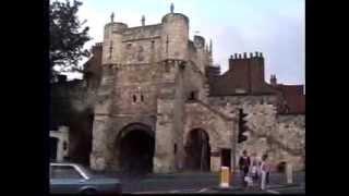 York, England walking tour part1