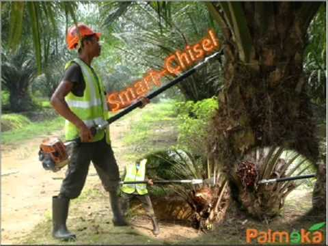 Mechanised Oil Palm Cutter. SmartCut