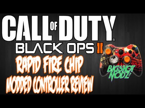 Custom Black Ops 2 Modded Controller Review: Rapid Fire Elite Chip   Designed By @BigShotModz